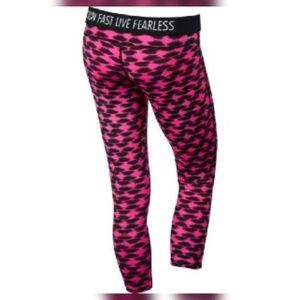 Nike Dri-Fit Printed 3/4 Athletic Pants